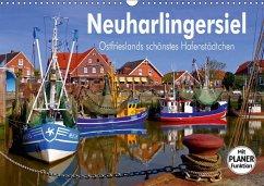 9783665382384 - LianeM: Neuharlingersiel - Ostfrieslands schönstes Hafenstädtchen (Wandkalender 2017 DIN A3 quer) - Bok