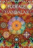 FLORALE MANDALASAT-Version (Tischkalender 2017 DIN A5 hoch)
