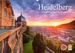 heidelberg romantische stadt am neckar wandkalender 2017 din a2 quer von jan christopher. Black Bedroom Furniture Sets. Home Design Ideas