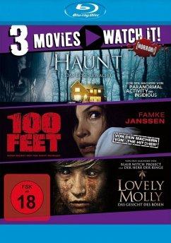 Haunt / 100 Feet / Lovely Molly Bluray Box