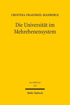 Die Universität im Mehrebenensystem (eBook, PDF) - Fraenkel-Haeberle, Cristina