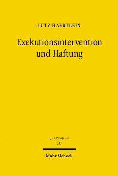 Exekutionsintervention und Haftung (eBook, PDF) - Haertlein, Lutz