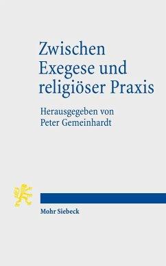 Zwischen Exegese und religiöser Praxis (eBook, PDF)