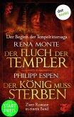 Der Fluch der Templer & Der König muss sterben (eBook, ePUB)