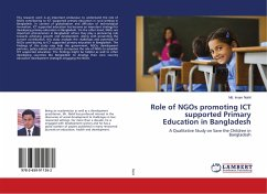 Role of NGOs promoting ICT supported Primary Education in Bangladesh