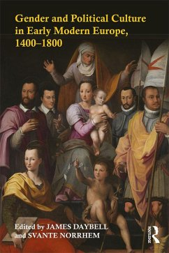 Gender and Political Culture in Early Modern Europe, 1400-1800 (eBook, ePUB)