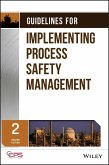 Guidelines for Implementing Process Safety Management (eBook, ePUB)