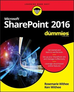 SharePoint 2016 For Dummies (eBook, PDF)