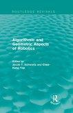Algorithmic and Geometric Aspects of Robotics (Routledge Revivals) (eBook, PDF)
