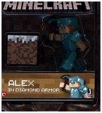 Minecraft - Sammelfigur - Alex mit Diamantausrüstung