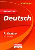 Besser in Deutsch - Realschule 7. Klasse - Cornelsen Scriptor (Mängelexemplar)