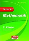 Besser in Mathematik - Realschule 7. Klasse - Cornelsen Scriptor (Mängelexemplar)
