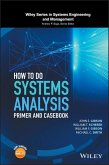 How to Do Systems Analysis (eBook, ePUB)