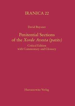 Penitential Sections of the Xorde Avesta (patits) (eBook, PDF) - Buyaner, David