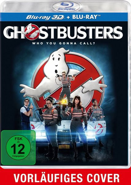 Ghostbusters - Answer the Call (Blu-ray 3D, inkl. Extended Cut, 2 Discs)