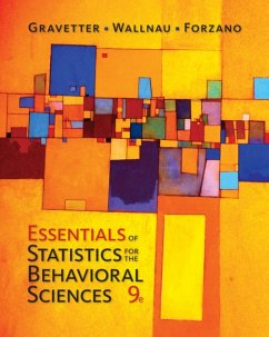 Essentials of Statistics for the Behavioral Sciences - Forzano, Lori-Ann B.; Gravetter, Frederick J.; Wallnau, Larry B.