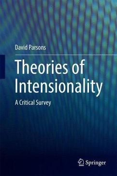 Theories of Intensionality - Parsons, David