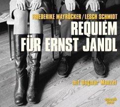 Requiem für Ernst Jandl, 1 Audio-CD - Mayröcker, Friederike; Schmidt, Lesch