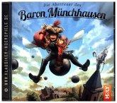 Die Abenteuer des Baron Münchhausen, 1 Audio-CD