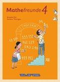 Mathefreunde - Süd 4. Schuljahr - Schülerbuch mit Kartonbeilagen