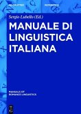 Manuale di linguistica italiana (eBook, ePUB)