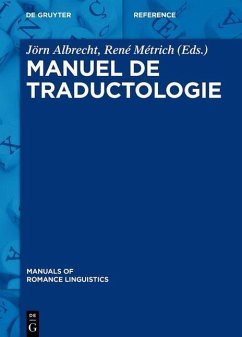 Manuel de traductologie (eBook, PDF)