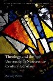 Theology and the University in Nineteenth-Century Germany (eBook, ePUB)