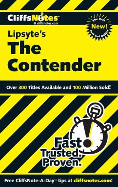 CliffsNotes on Lipsyte's The Contender (eBook, ePUB) - Baldwin, Stanley P