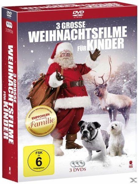 3 gro e weihnachtsfilme f r kinder 3 discs auf dvd. Black Bedroom Furniture Sets. Home Design Ideas