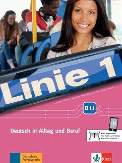 Linie 1 B1.1. Kurs- und Übungsbuch mit DVD-ROM - Dengler, Stefanie;Hoffmann, Ludwig;Kaufmann, Susan