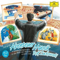 Das große Abenteuer Musik, 4 Audio-CDs