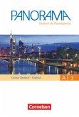 Panorama A2: Gesamtband - Glossar Deutsch-Englisch