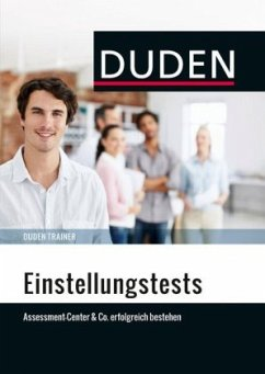 Duden Trainer - Einstellungstests (Mängelexemplar)