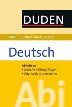 SMS Abi Deutsch (Mängelexemplar)