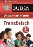 Duden Wissen - Üben - Testen, Französisch 2. Lernjahr, m. Audio-CD (Mängelexemplar)