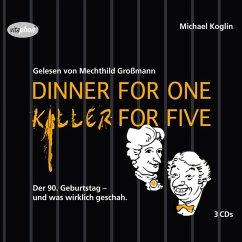 Dinner For One - Killer For Five (MP3-Download)