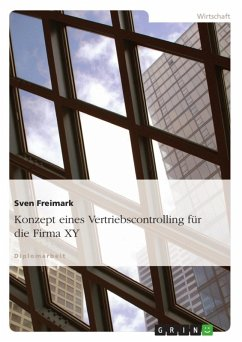 Konzept eines Vertriebscontrolling für die Firma XY (eBook, ePUB) - Freimark, Sven