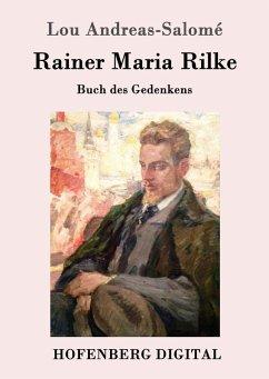 Rainer Maria Rilke (eBook, ePUB) - Andreas-Salomé, Lou