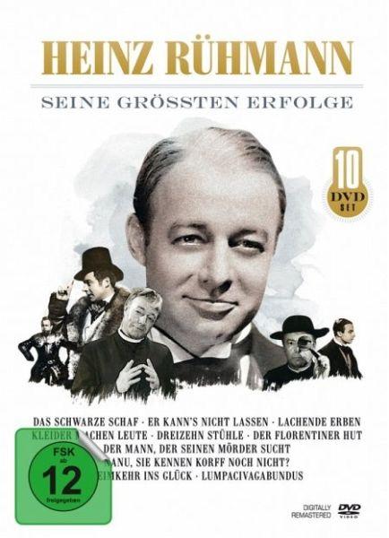 Heinz Rühmann Seine Größten Erfolge 10 Discs Auf Dvd Portofrei