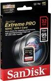 SanDisk Extreme Pro SDHC 32GB 95MB/s V30 U3 SDSDXXG-032G-GN4IN