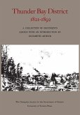 Thunder Bay District, 1821 - 1892
