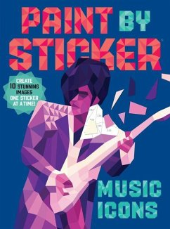 Paint by Sticker: Music Icons - Workman Publishing