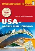 USA-Große Seen / Chicago - Reiseführer von Iwanowski (eBook, ePUB)