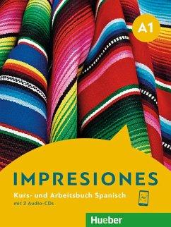 Impresiones A1. Kursbuch + Arbeitsbuch + 2 Audio-CDs - Varela Navarro, Montserrat; Balboa Sánchez, Olga; Teissier de Wanner, Claudia