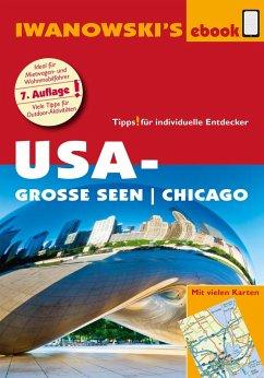 USA-Große Seen / Chicago - Reiseführer von Iwanowski (eBook, PDF) - Bromberg, Marita; Kruse-Etzbach, Dirk