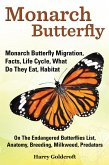 Monarch Butterfly, Monarch Butterfly Migration, Facts, Life Cycle, What Do They Eat, Habitat (eBook, ePUB)