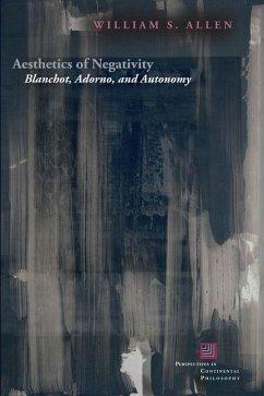 Aesthetics of Negativity (eBook, PDF) - Allen, William S.
