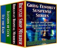 Greg Tenorly Suspense Series Boxed Set (eBook, ePUB)