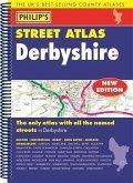 Philip's Street Atlas Derbyshire