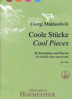 Coole Stücke, für Kontrabass, Klavier